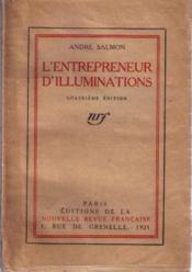 L'entrepreneur d'illuminations - Couverture - Format classique