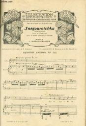 L'ILLUSTRATION SUPPLEMENTAIRE MUSICAL - Publié sous la direction de Gapriel Pierné. Supplément au N° du 27 juin 1908. Année 1908 - N°3 - Couverture - Format classique