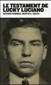 Le testament de Lucky Luciano - Couverture - Format classique