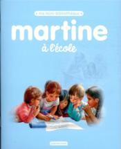 Martine à l'école - Couverture - Format classique