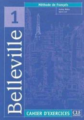 Belleville 1 s de francais cahier d'exercices + cd audio - Couverture - Format classique