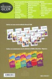 Hepato-Gastro-Enterologie Dossiers Originaux Annales Et Dossiers Transversaux Corriges Iconographie - 4ème de couverture - Format classique