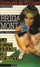 Brigade mondaine t.21 ; la nuit arabe de monaco - Couverture - Format classique