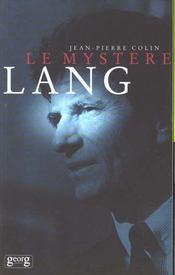 Le Mystere Lang - Intérieur - Format classique