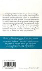Voyages en gourmandise - 4ème de couverture - Format classique