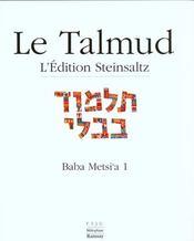 Baba metsi a1 talmud vol xi - Intérieur - Format classique