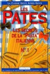 Les pâtes - Couverture - Format classique