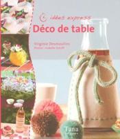 Déco de table - Couverture - Format classique