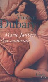 Marie Janvier s'est endormie - Couverture - Format classique