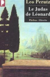 Le judas de Léonard - Couverture - Format classique