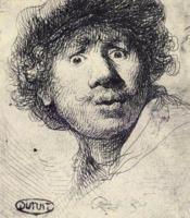 Rembrandt eaux - fortes - Couverture - Format classique