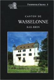 Canton De Wasselonne (Bas-Rhin) - Couverture - Format classique