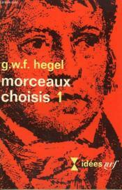 Morceaux Choisis N° 1. Collection : Idees N° 201 - Couverture - Format classique