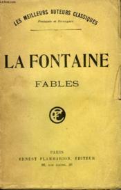 Fables. - Couverture - Format classique