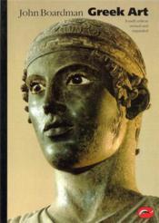 Greek art (world of art) - Couverture - Format classique