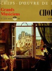 Chefs D'Oeuvres De L'Art N°72 - Grands Musiciens - Chopin (V) - 24 Preludes - Couverture - Format classique