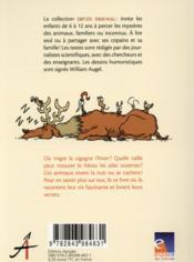 Espece d'animal ! t.10 ; les discrets - 4ème de couverture - Format classique