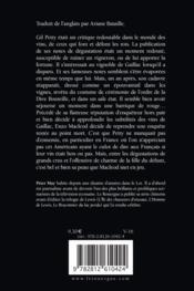 Terreur dans les vignes - 4ème de couverture - Format classique