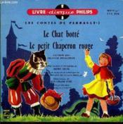 Livre-disque 45t // Les contes de Perrault n°1 - Couverture - Format classique