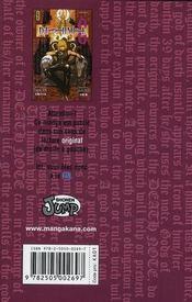 Death note T.8 - 4ème de couverture - Format classique