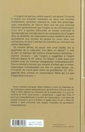 Le Dico De L'Argent - Couverture - Format classique