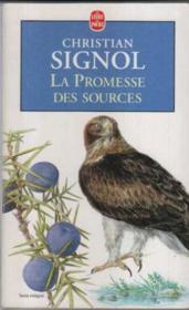 La promesse des sources - Couverture - Format classique