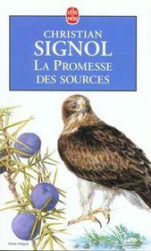 La promesse des sources - Intérieur - Format classique