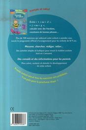 Mon livre d'exercices ; français et calcul ; ce2 - 4ème de couverture - Format classique