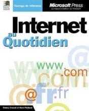 Internet Au Quotidien (+Cd-Rom) - Livre+Cd-Rom - Couverture - Format classique