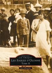 Les Sables-d'Olonne t.2 - Couverture - Format classique