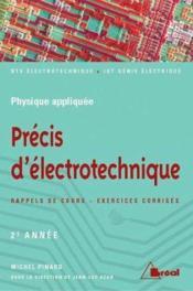 Precis d'electrotechnique t.2 - Couverture - Format classique