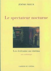 Le spectateur nocturne - Couverture - Format classique
