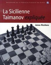 La sicilienne taimanov expliquée - Intérieur - Format classique
