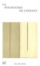 Revue La Psychiatrie De L'Enfant N.53/2 ; Le Psychodrame - Couverture - Format classique