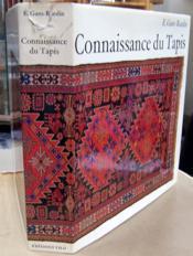 Connaissance du tapis. - Couverture - Format classique