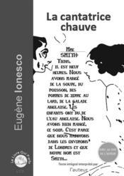 La cantatrice chauve - Couverture - Format classique