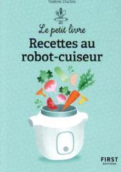 Recettes au robot cuiseur - Couverture - Format classique