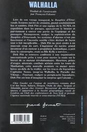 Walhalla - 4ème de couverture - Format classique