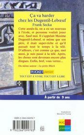 Ca Va Barder Chez Les Dugentil-Leboeuf - 4ème de couverture - Format classique
