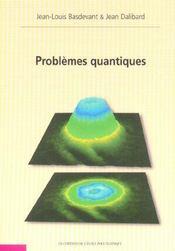 Problemes Quantiques - Intérieur - Format classique