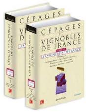 Cepages et vignobles de france t.3 ; les vignobles de france t.1 et 2 ensemble - Couverture - Format classique