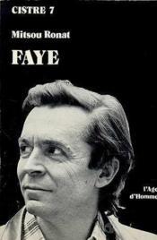 Faye J.P. - Couverture - Format classique