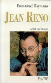 Jean reno arret sur image - Couverture - Format classique