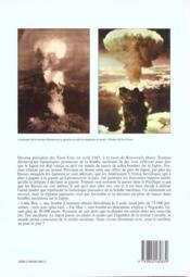 La bombe atomique - 4ème de couverture - Format classique
