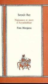 Naissance Et Mort D'Aryashekhar - Couverture - Format classique