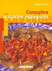 Connaitre la cuisine espagnole - Intérieur - Format classique