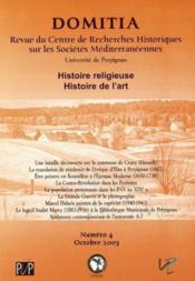 Domitia t.4 ; histoire religieuse histoire de l'art - Couverture - Format classique