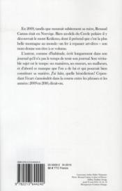 Krakmo ; journal 2009 - 4ème de couverture - Format classique