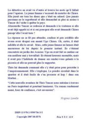 Mort violente d'un italien à Paris - 4ème de couverture - Format classique