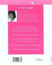 Ventre Plat - 4ème de couverture - Format classique